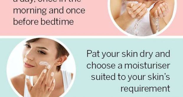 Follow These Steps For A Clear Complexion