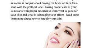 Try These Tips To Keep Your Skin Happy